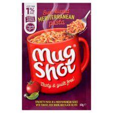 Mugshot Mediterranean Style Pasta 60G