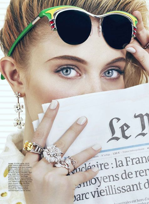 bling.: Marie Claire, Shades, Fashion, Office Supplies, Prada Sunglasses, Mary Claire, Rings, Accessories, Offices Supplies