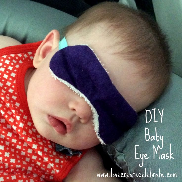 DIY Eye Mask - Love Create Celebrate