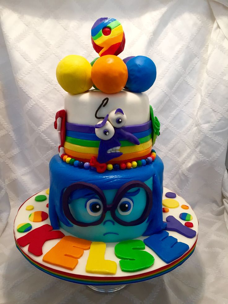 Disney Inside Out Cake: