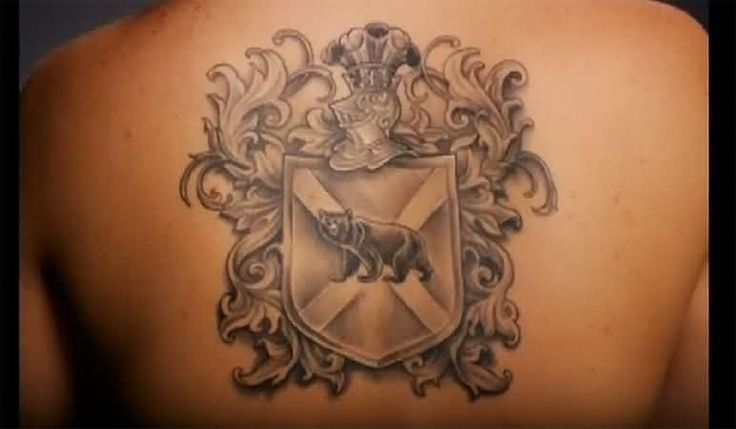 Family Crest Tattoos, Designs And Ideas