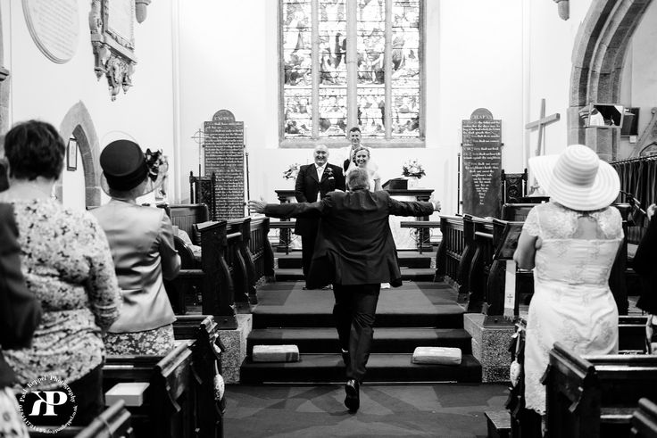 Church wedding in Cornwall by Paul Keppel Photography