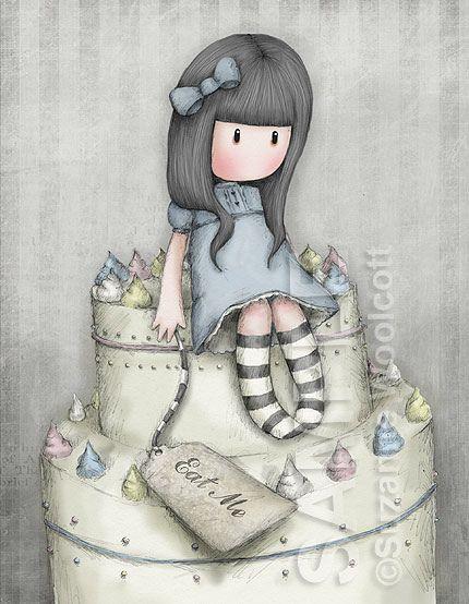 Suzanne Woolcott (gorjuss) - The Sweet Cake (eat me)