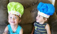 Busy Mom's Helper: Family fun, food, recipes and crafts.: Kids Chef Hats