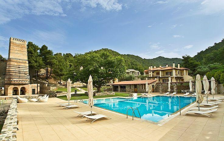 #Kaminos #resort #pool #Limni #Evias