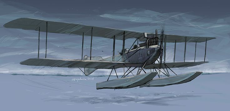 The 100th Anniversary of Great War: Friedrichshafen FF 33e Friedrichshafen FF.33 was a German single-engined amphibious reconnaissance biplane designed by Flugzeugbau Friedrichshafen in 1914. drawn...