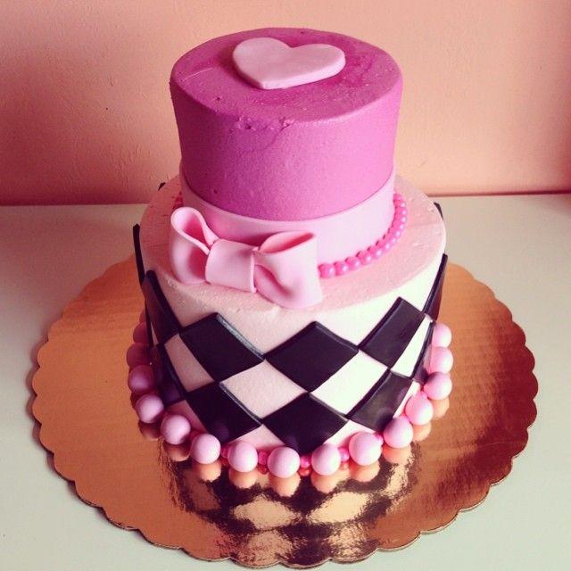 Pink Birthday Cake By 2tarts Bakery New Braunfels Texas Www 2tarts