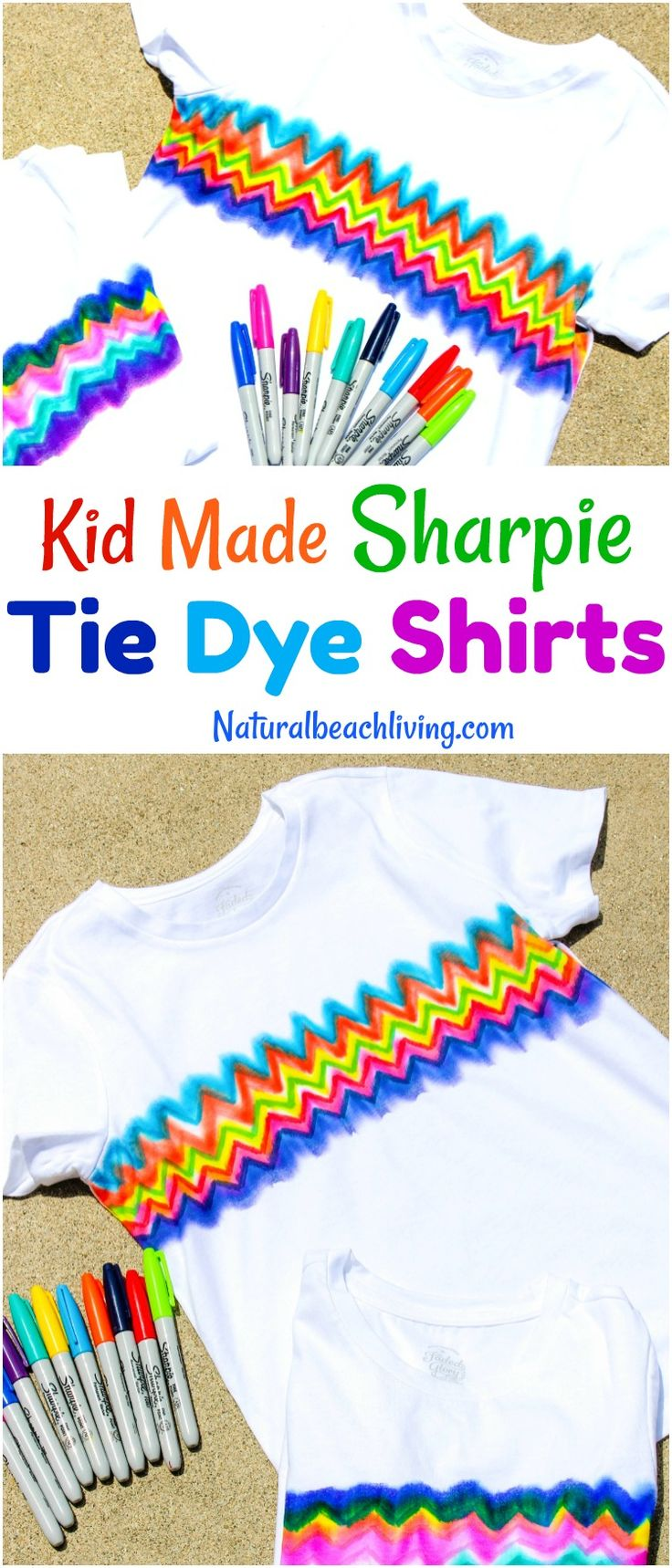 Craft ideas with sharpies - How To Make Super Cool Sharpie Tie Dye Shirts