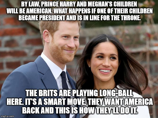 Not Impossible Just Improbable Prince Harry And Meghan Fun To Be One Markle