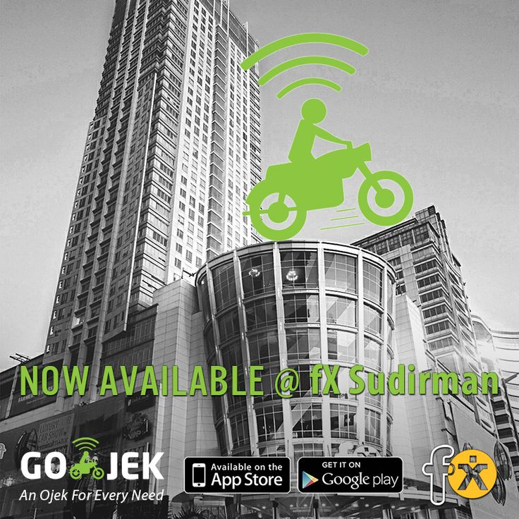 Our first ever mall GO-JEK station is now active at fX Sudirman... Check out the GO-JEK station with our booth located on the fB floor near the escalators #gojek #transport #courier #shopping