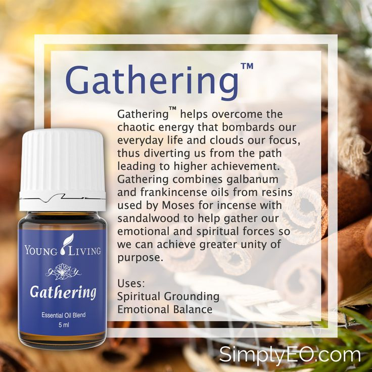 Gathering™ helps overcome the chaotic energy that bombards our everyday life and clouds our focus, thus diverting us from the path leading to higher achievement.