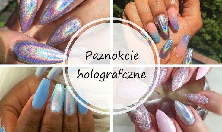 paznokcie holograficzne