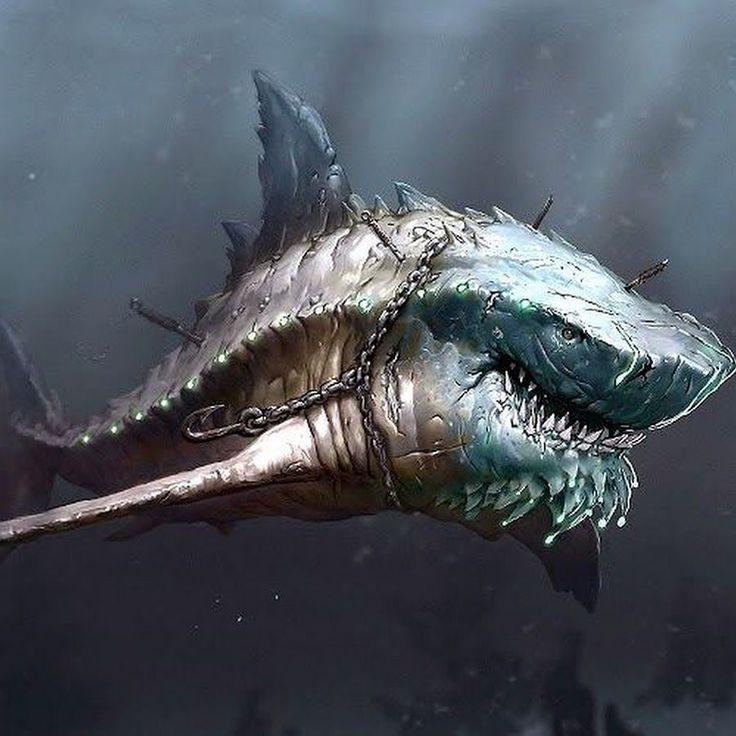 Prehistoric Shark Megalodon Skeleton   www.pixshark.com - Images Galleries With A Bite!