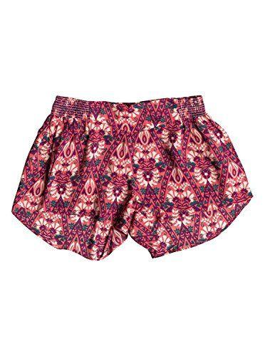 Roxy Girls Roxy Oasis - Shorts - Girls - L - Orange Sugar Coral-6 L