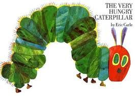 This book has just celebrated its 45th birthday and is still a favourite for young children.  I have my copy from when I was little (still in good condition) and the other week I was lucky enough to get one of the limited special Hungry Caterpillar pillow pets. I'm not sure what I will do with it but I just had to have it!
