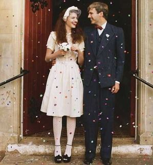 How to have a 40s themed wedding