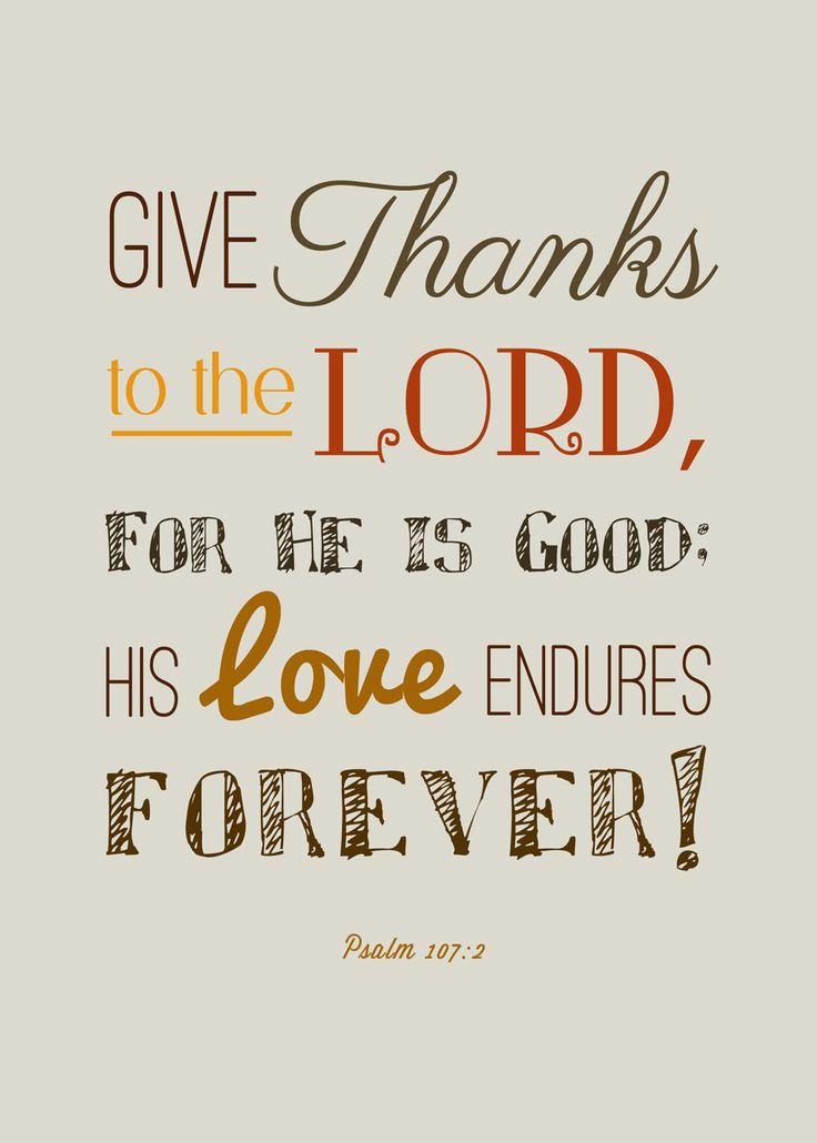 Free Thanksgiving Scripture Printables