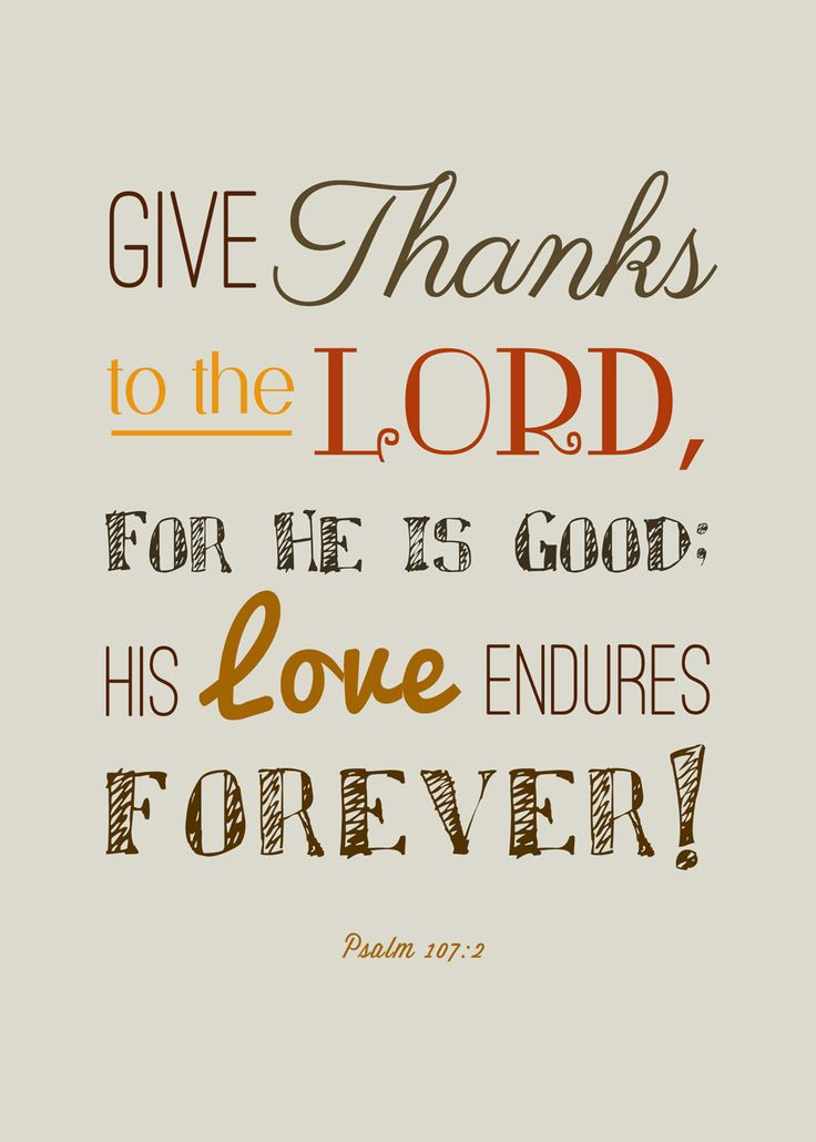Free Thanksgiving Scripture Printables