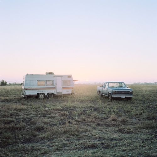 car camping in wide open spaces