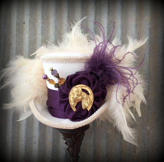 Kentucky Derby Hat Kentucky Derby Fascinator Horse by ChikiBird