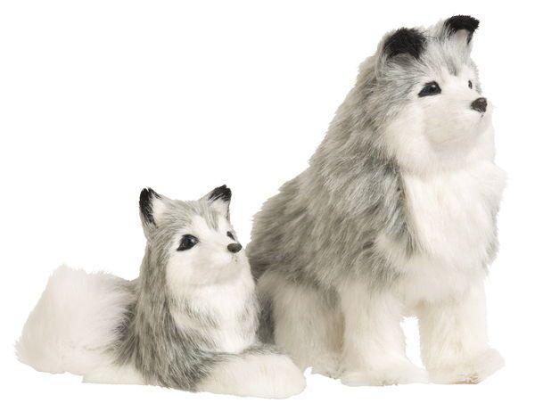 Hund Huskey - Julprydnader - Rusta
