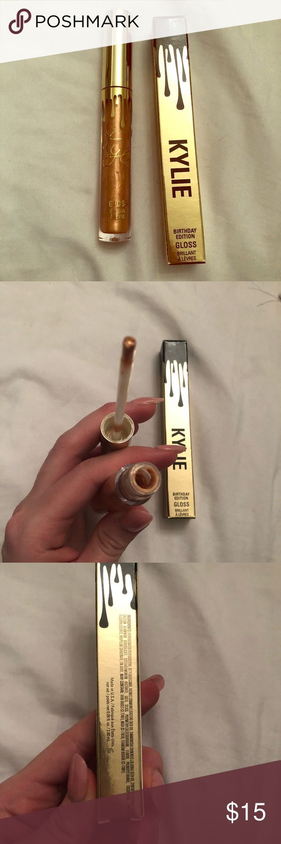 """Kylie Cosmetics """"Poppin"""" lip gloss Kylie Cosmetics """"Poppin"""" lip gloss 