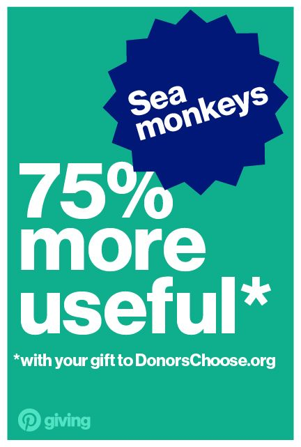 Monkey sea, monkey do! Give high schoolers at Palos Verdes Peninsula High School some hands-on science experience with their very own sea monkey hatchery.