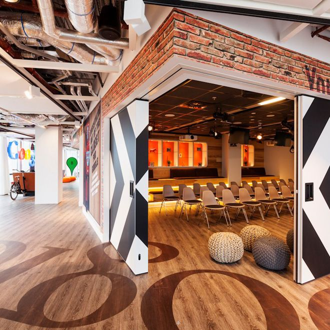 Google's Redesigned Amsterdam Office is Functionally Quirky - My Modern Metropolis