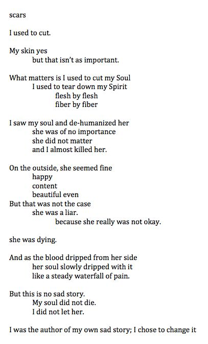 Recovery Poem Self harm recovery - 37.8KB