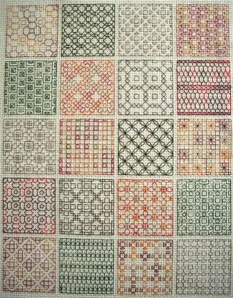 click here to view larger image of Blackwork Fun  (chart)