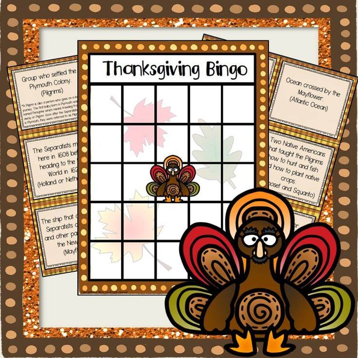 {A Freebie from History Gal} See how much your students know about the Pilgrims and the origination of Thanksgiving with this bingo game! Great for use in your 6th, 7th, 8th, 9th, 10th, or 11th grade classroom OR homeschool! {Middle School & High School approved!} FREEBIE