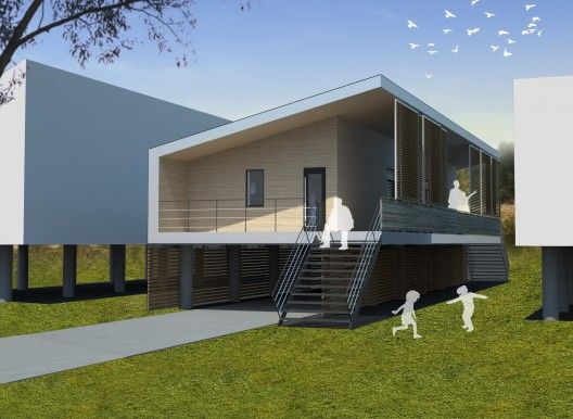 Low Cost, Low Energy House for New Orleans by sustainable. TO