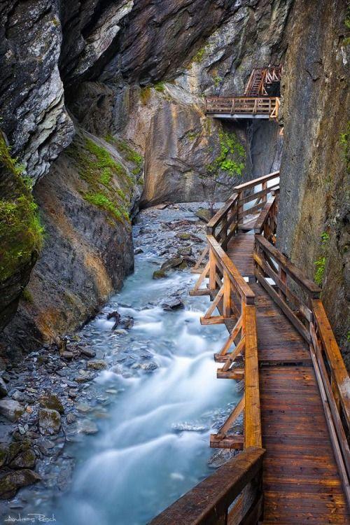 Canyon Path, Salzburg, Austria