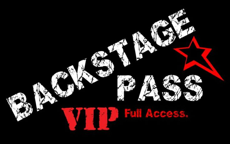 Be backstage at a concert - YET TO DO!