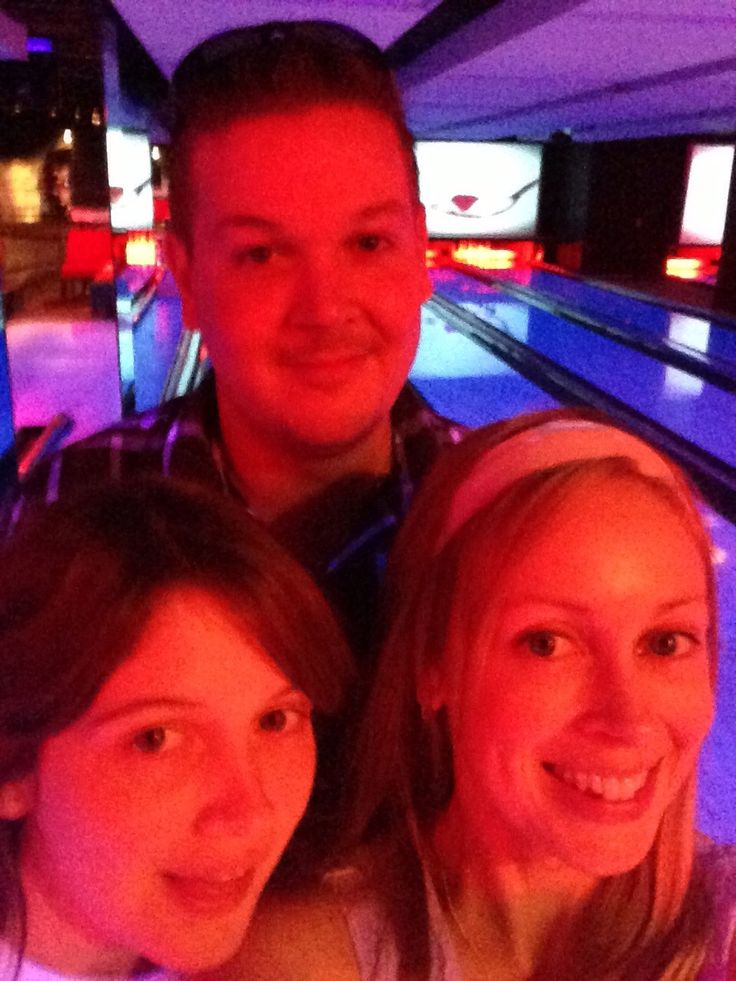 Impromptu bowling session with my legendary siblings:)