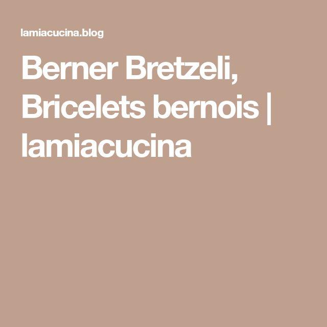 Berner Bretzeli, Bricelets bernois   lamiacucina