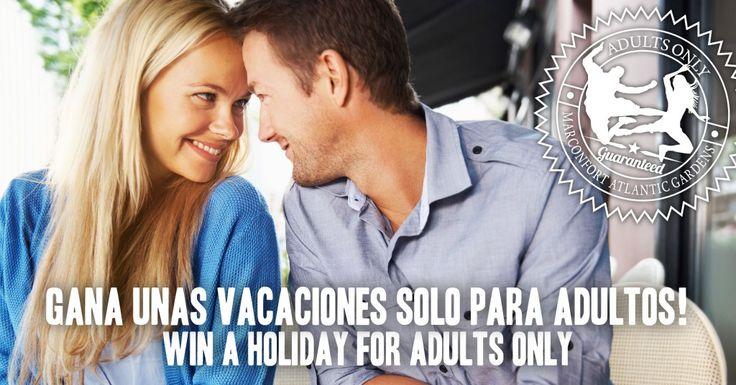 Gana unas vacaciones! Win a free holiday! #adultsonly #soloadultos #concurso #contest #facbook https://basicfront.easypromosapp.com/p/117843: Concurso Contest, Gana Una, Free Holidays, Una Vacacion, Soloadulto Concurso, Adultson Soloadulto, Contest Facbook