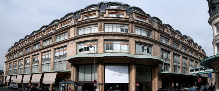 La Grande Epicerie de Paris, opposite side on Rue du Bac to Le Bon Marche. Mon to Sat between 8.30am - 9pm.