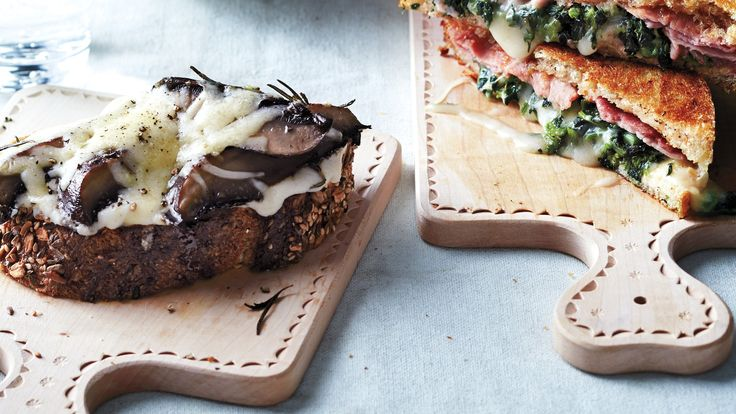 Roasted Portobello Melts