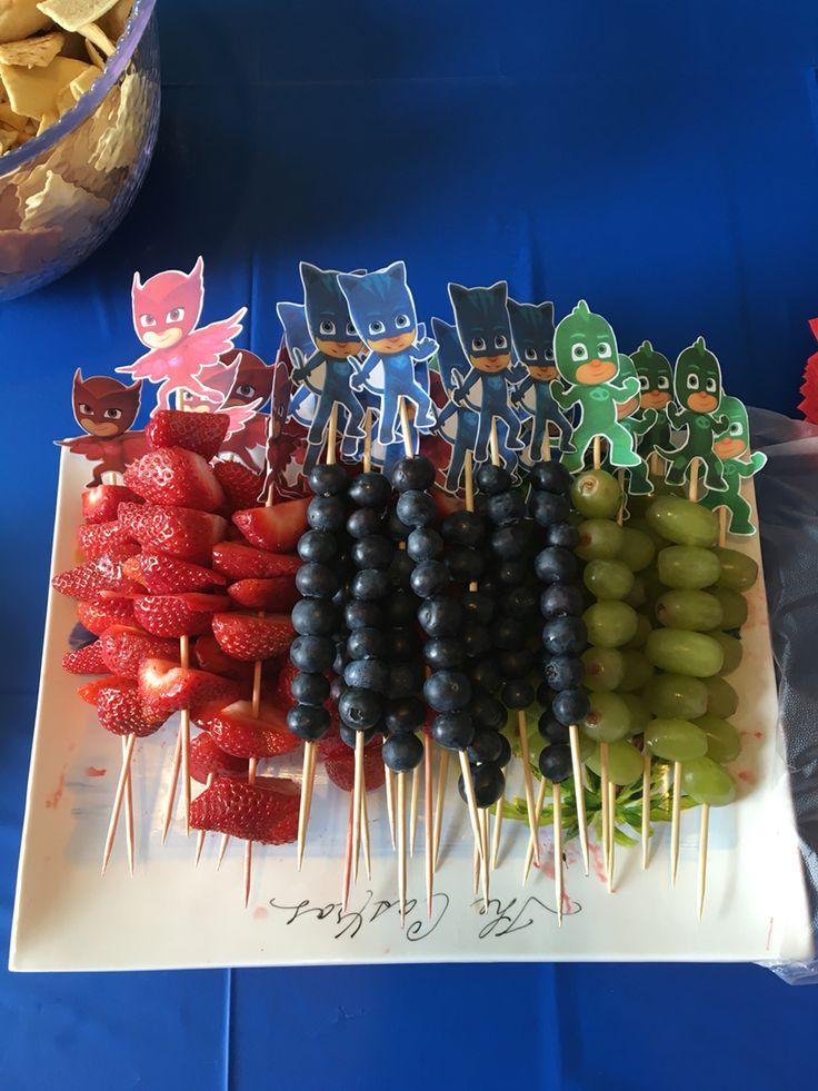 PJ Masks Fruit link to picture only
