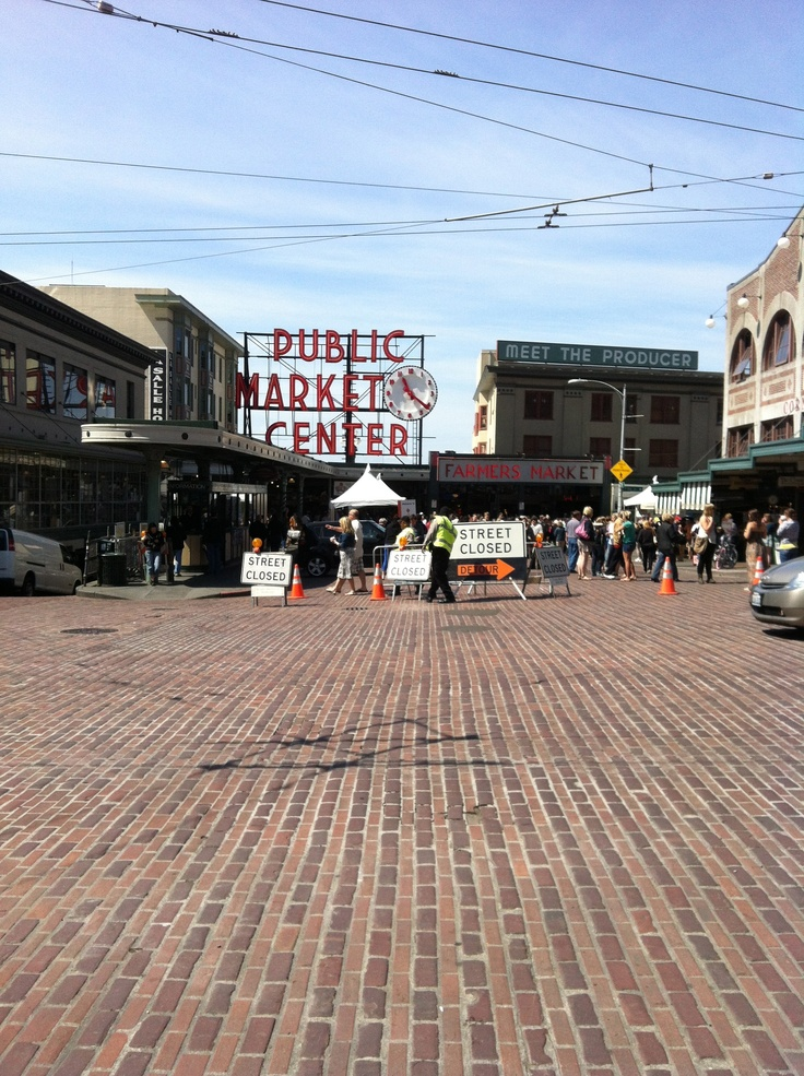 Pikes Market seattle travel placesivevisited seattlewa vacation
