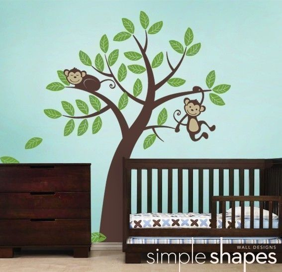 12 Best Jungle Monkey Nursery Ideas Images On Pinterest