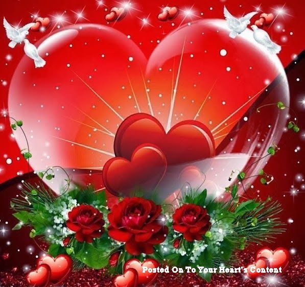 Heart And Love Valentine
