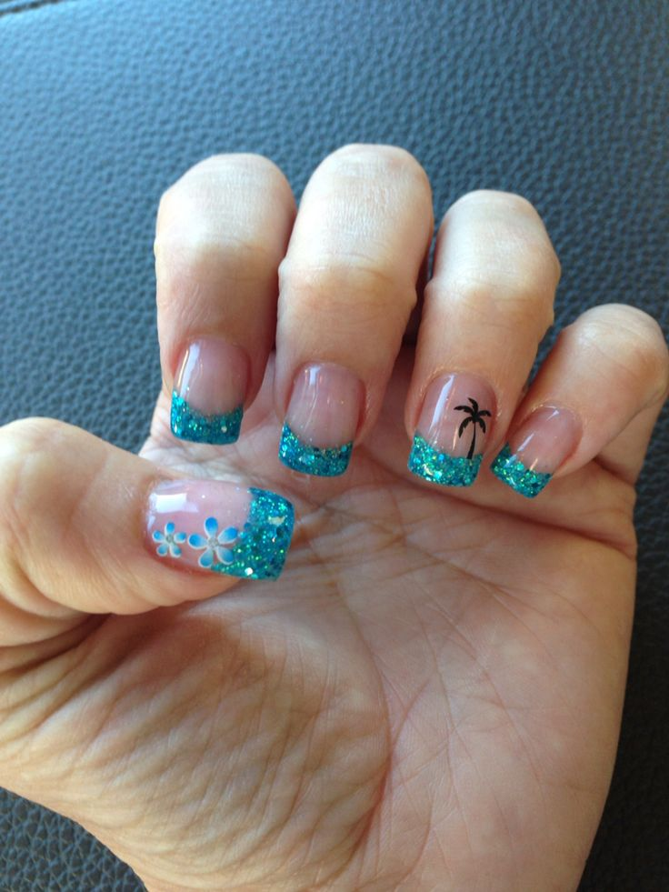 25+ Best Ideas About Beach Manicure On Pinterest