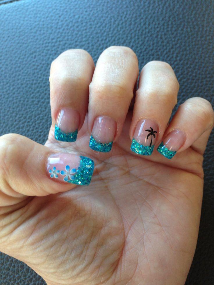Best 25+ Beach nail designs ideas on Pinterest   Beach ...
