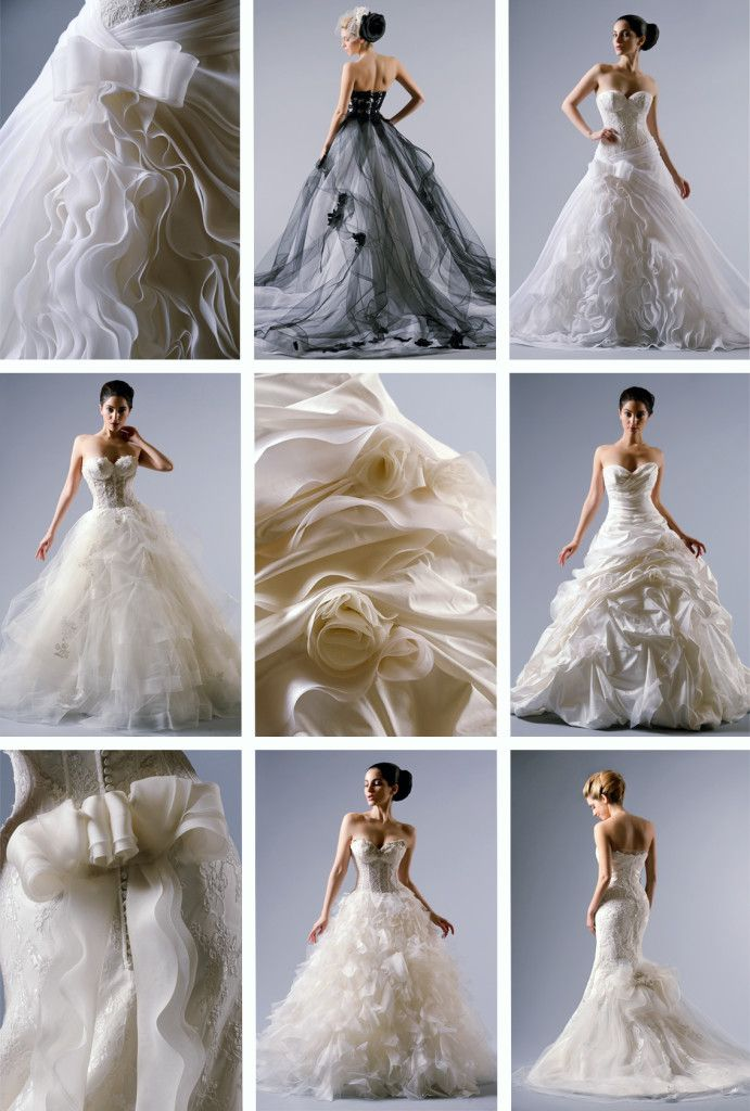 Les Noces Couture Wedding Dress Collection