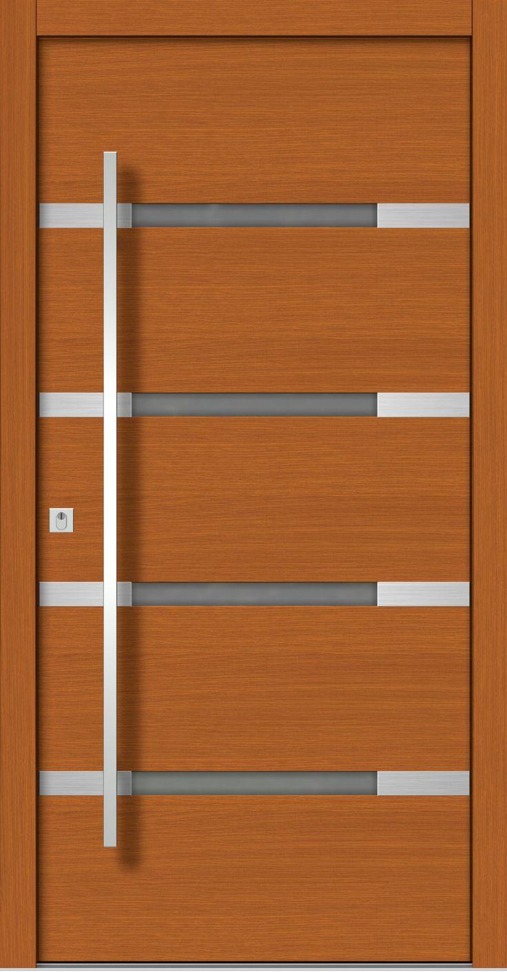 Beautiful Moderne Holz Haust ren vom Fachbetrieb mit Aufma Lieferung und Montage