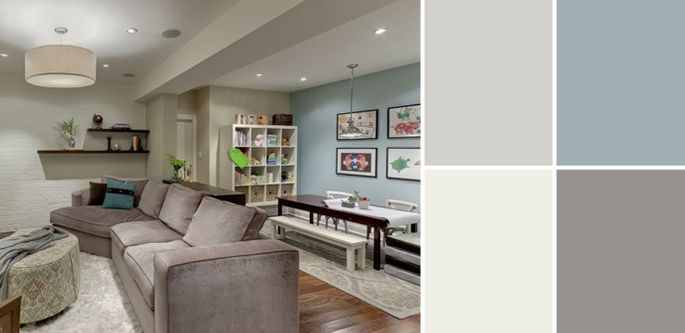 20 best semi finished basements images on pinterest home on concrete basement wall paint colors id=99239