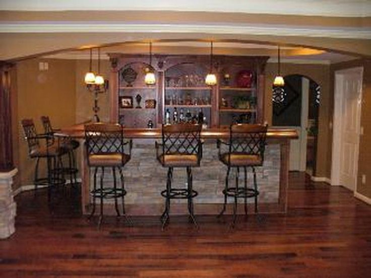 Finished Basement Bar Idea - More Home Bar Pictures Here: http://homebar.involvery.com/best-home-bar-pictures/