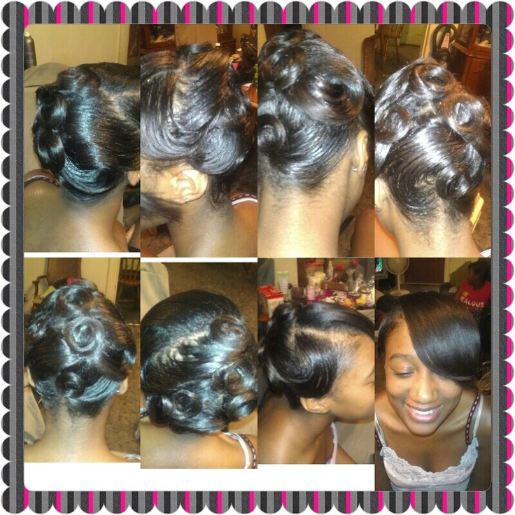 Updo by me ♥